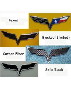 C6 Texas and Blackout Emblem Overlay